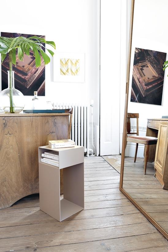 Schönbuch Design Beistelltisch Match Metall beige nude vielseitig minimalistisch Jehs + Laub Schönbuch design side table Match metal beige nude versatile minimalistic Jehs + Laub