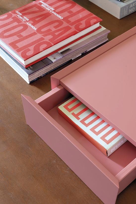 Schönbuch Design Schubladenelement Souvenir Holz minimalistisch rosa pink Sebastian Herkner Schönbuch design drawer Souvenir wood minimalist rose pink Sebastian Herkner