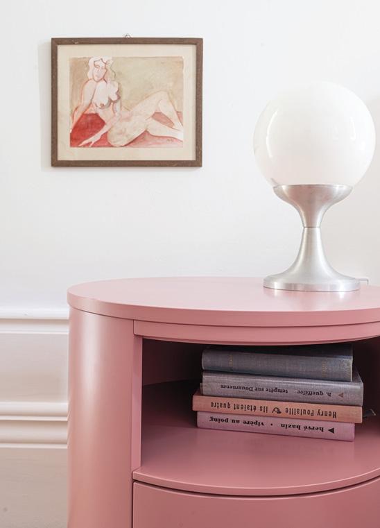 Schönbuch Design Rundkommode funktional vielseitig Holz rosa pink Thomas Althaus Schönbuch design circular cabinet functional versatile wood rose pink Thomas Althaus